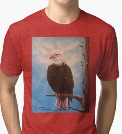 Vigilant Eagle Tri-blend T-Shirt