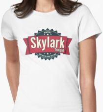 Skylark Tonight Ainter's Womens Fitted T-Shirt
