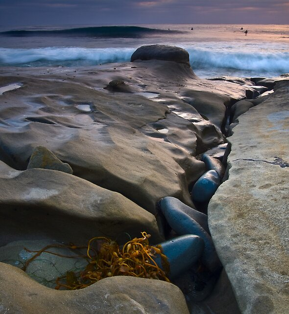 Rocks at Low Tide by Robert Whiteman