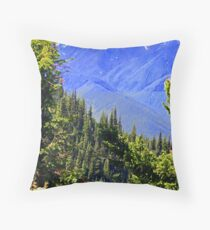 """""""Spring In The North Cascades"""" Throw Pillow"""