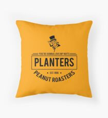 You're Gonna Love My Nuts Throw Pillow