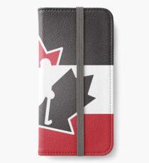 Team Kanada iPhone Flip-Case/Hülle/Klebefolie