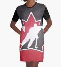 Team Kanada T-Shirt Kleid