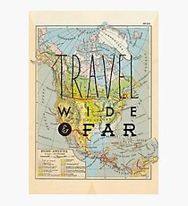 Travel Wide & Far - North America Photographic Print