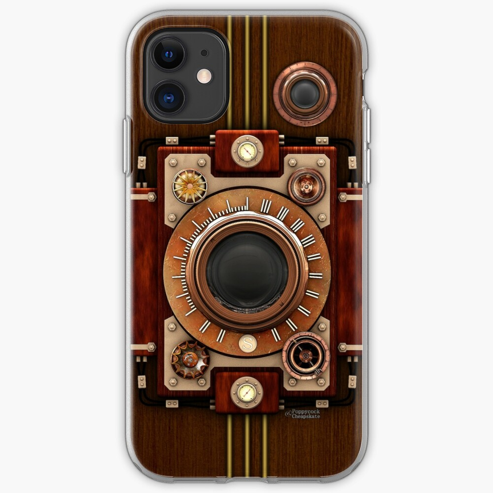 Vintage Steampunk Camera No.1A Steampunk phone cases iPhone Case & Cover