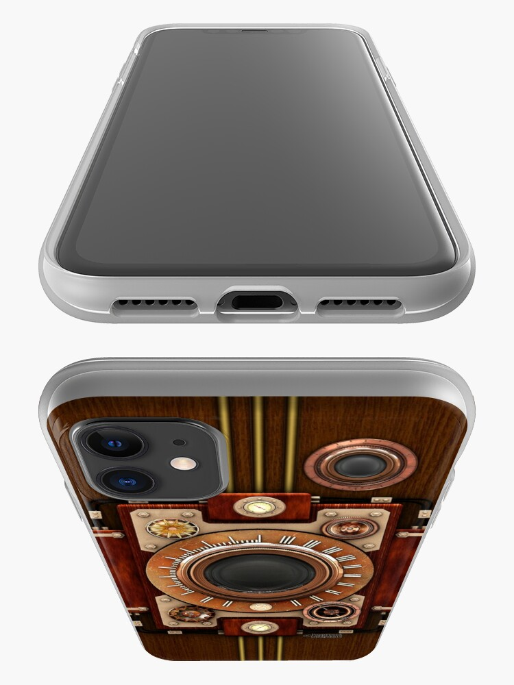 Alternate view of Vintage Steampunk Camera No.1A Steampunk phone cases iPhone Case & Cover