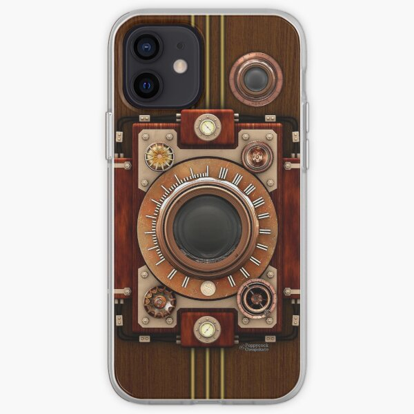 Vintage Steampunk Camera No.1A Steampunk phone cases iPhone Soft Case
