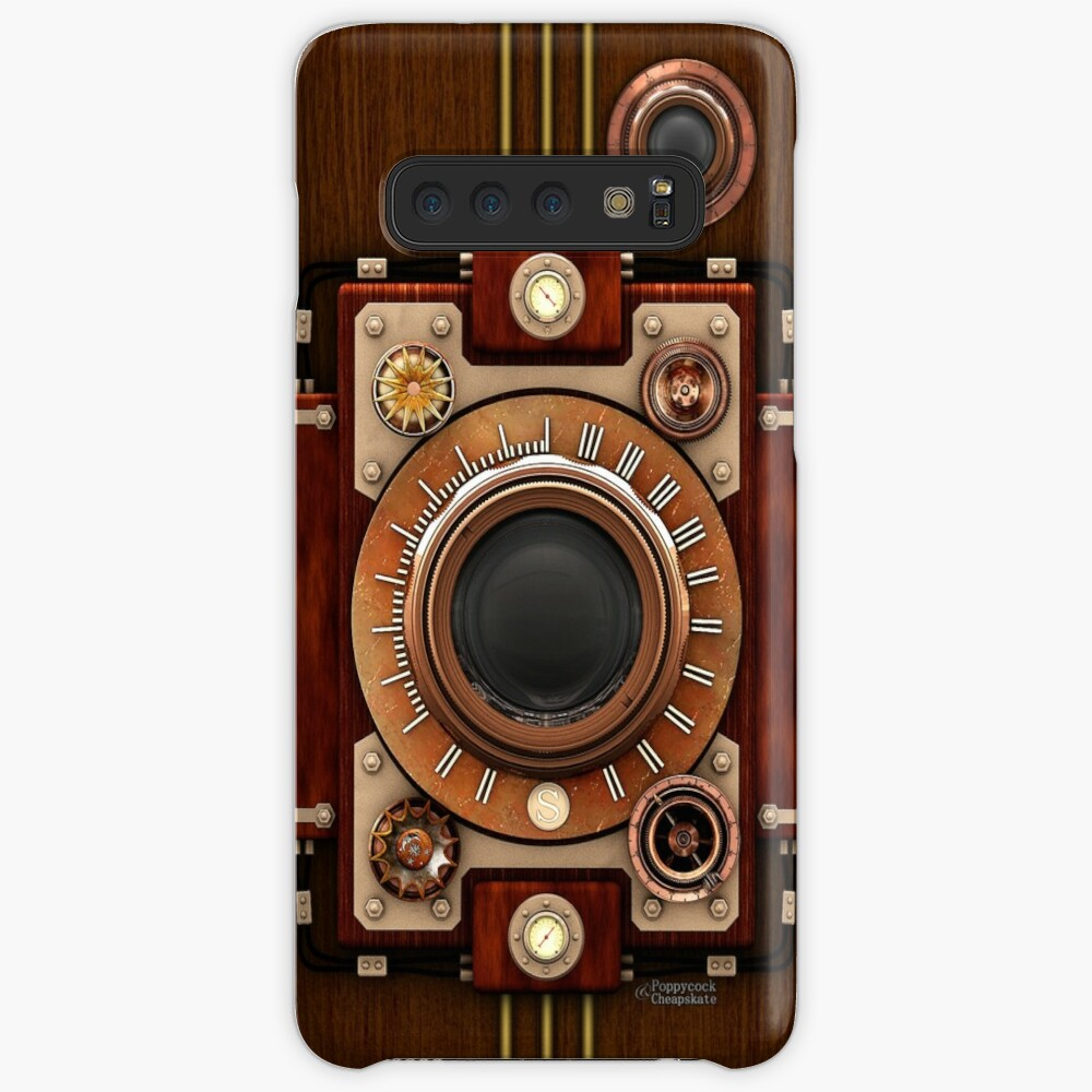 Vintage Steampunk Camera No.1A Steampunk phone cases Case & Skin for Samsung Galaxy