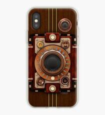 Vinilo o funda para iPhone Casos Steampunk Vintage Steampunk Camera No.1A Steampunk