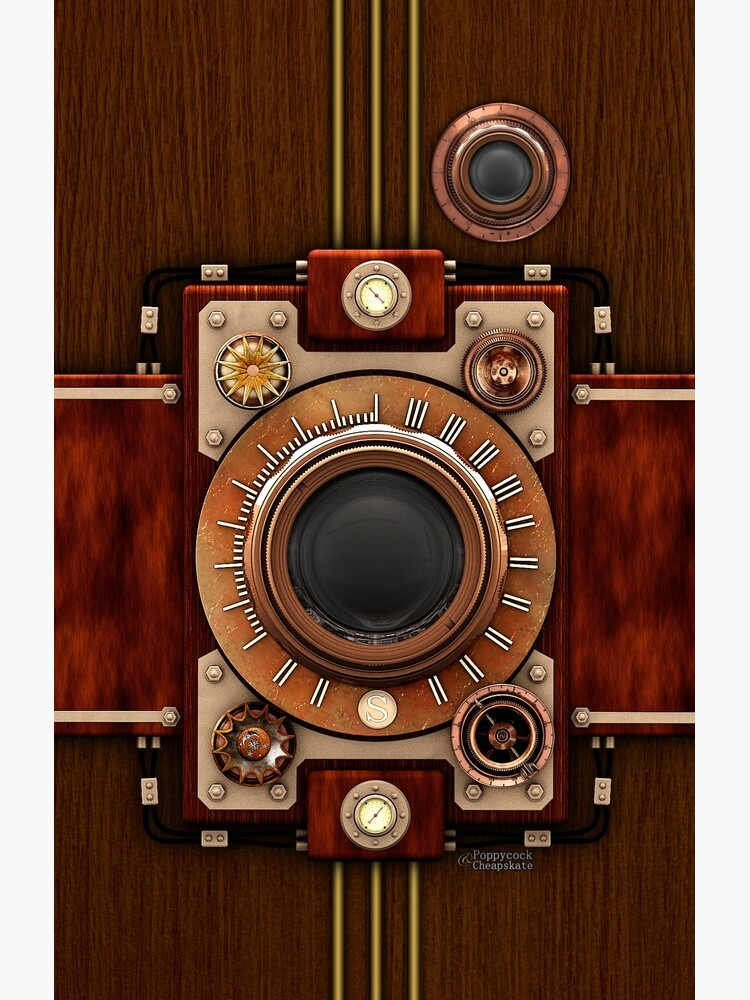 Vintage Steampunk Camera No.1A Steampunk phone cases by SC001