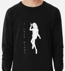 süßes Manga Mädchen Leichter Pullover