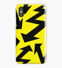Retro 80's Lightning Arrow by 'Chillee Wilson'  iPhone Case