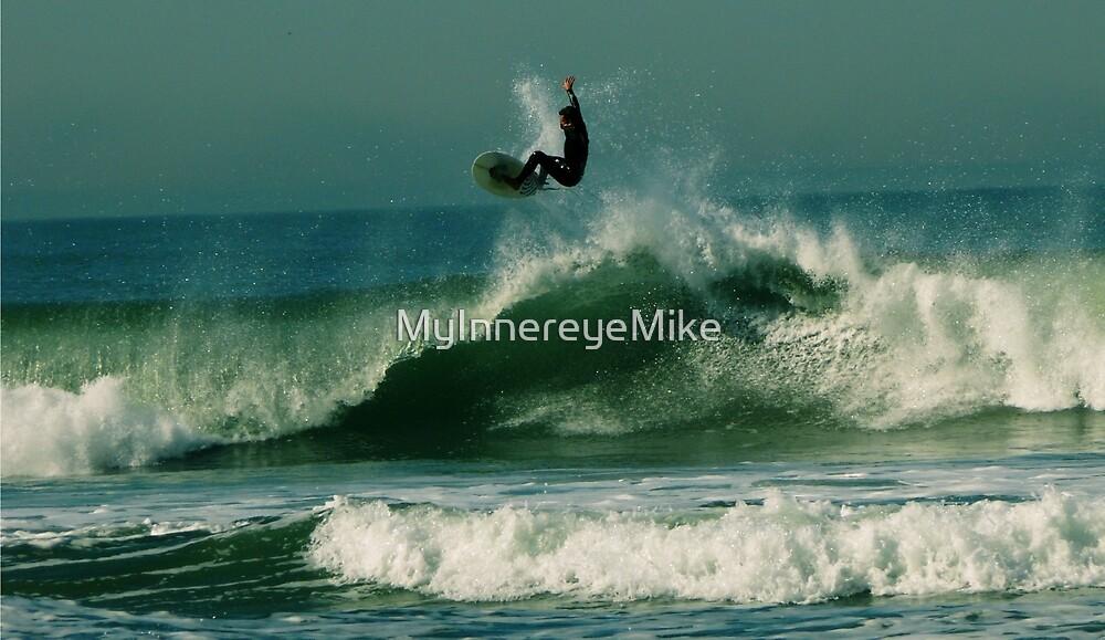 #246 Surfer In San Francisco by MyInnereyeMike