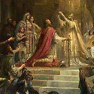 Coronation of Charlemagne...Karl der Grosse by edsimoneit