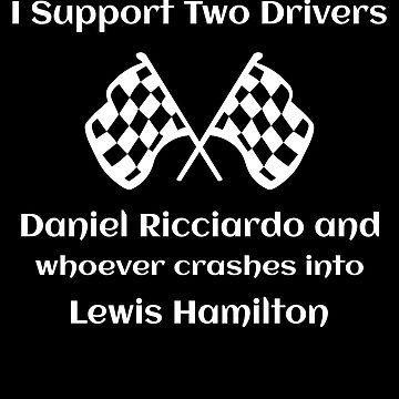 Daniel Ricciardo Wrecks Lewis Hamilton Formula One  by itsmwaura