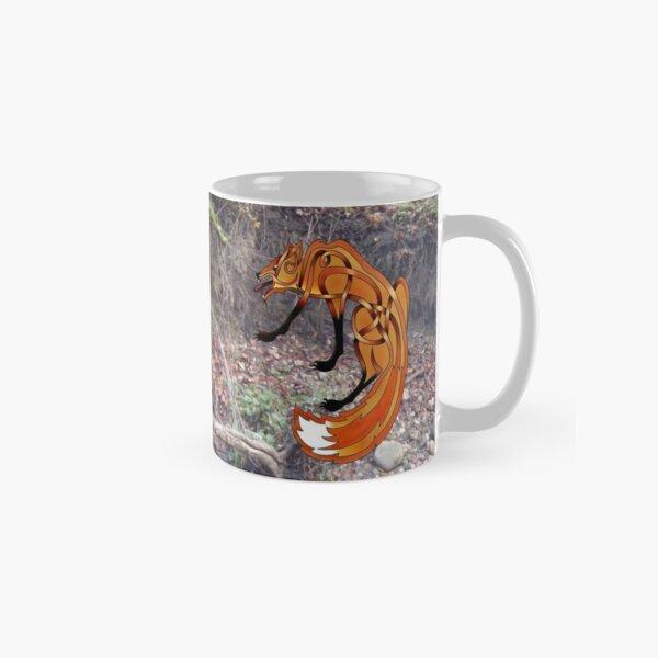 Celtic Knot Fox-1 Classic Mug