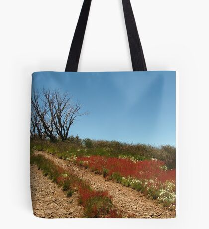 Colours of Blue Rag Range,High Country Tote Bag