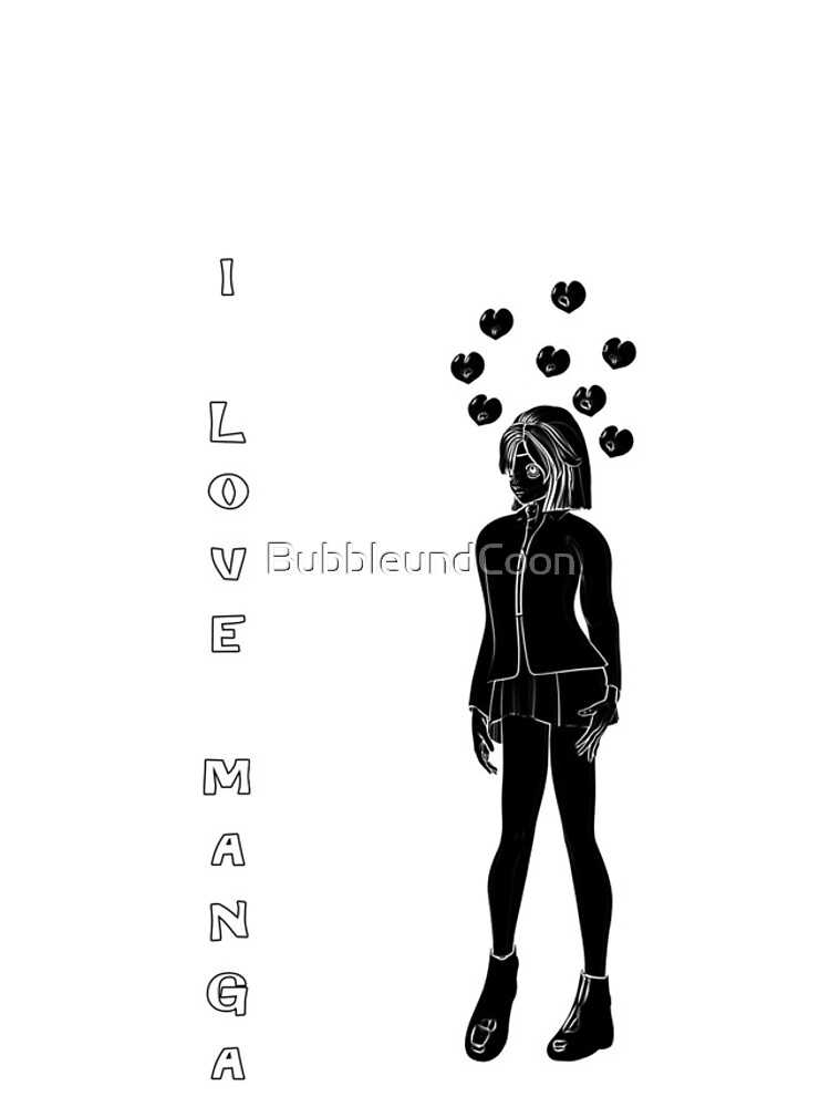 Silhouetten Manga Shirt von BubbleundCoon