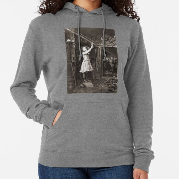 Striking Historical Photo That Bring the Past to Life #HistoricalPhoto #Historical #Photo #vintage #clothing, #people, #adult, #group, #child, #vertical, #brown, #photography, #clothing, #women, #men Lightweight Hoodie
