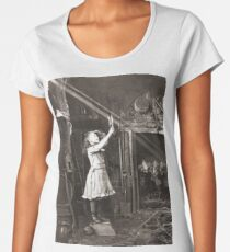 Striking Historical Photo That Bring the Past to Life #HistoricalPhoto #Historical #Photo #vintage #clothing, #people, #adult, #group, #child, #vertical, #brown, #photography, #clothing, #women, #men Women's Premium T-Shirt
