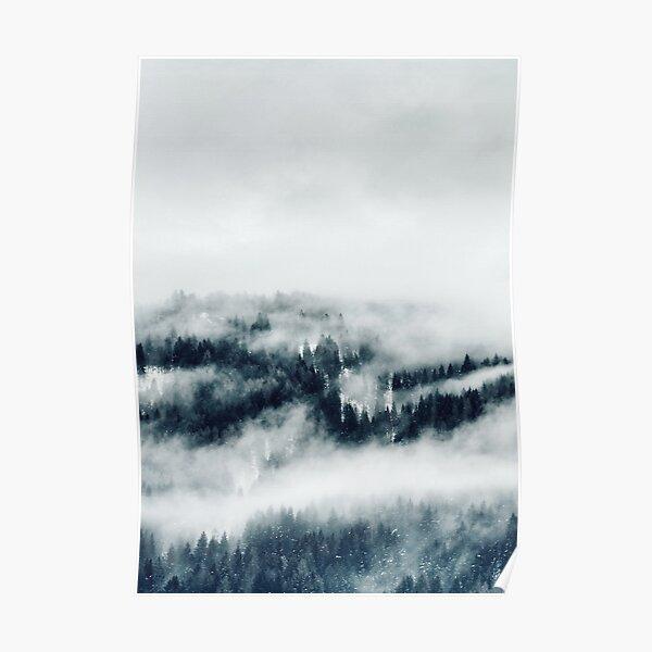 Misty Mountain Left Poster