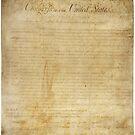 Ursprüngliche Verfassungsurkunde der Vereinigten Staaten 15. Dezember 1791 von allhistory