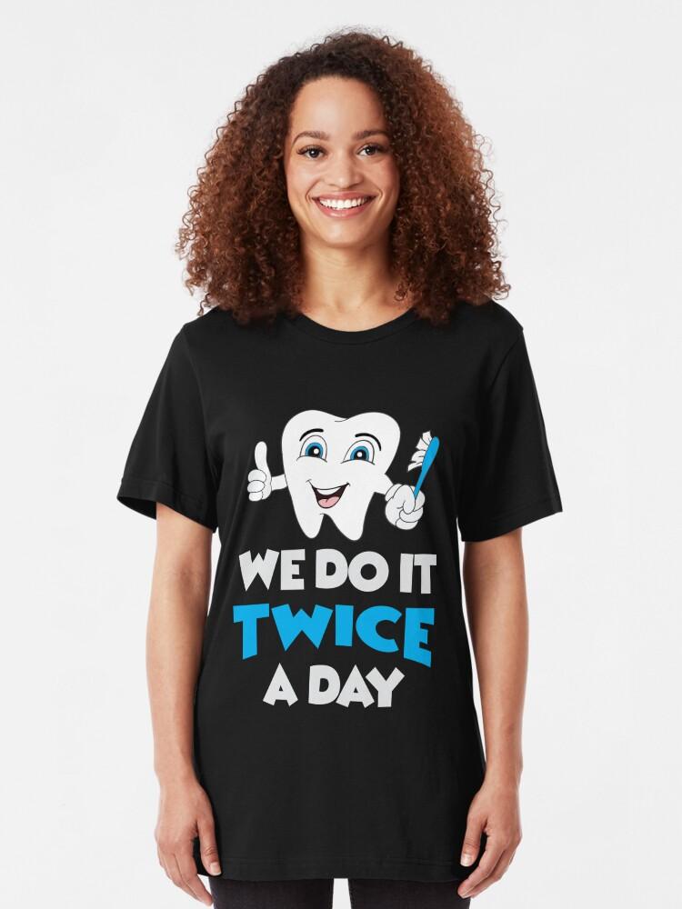 Dentists Do It Twice A Day Dentist Funn Sweatshirt