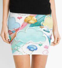 Unidentified Flying Objects Mini Skirt