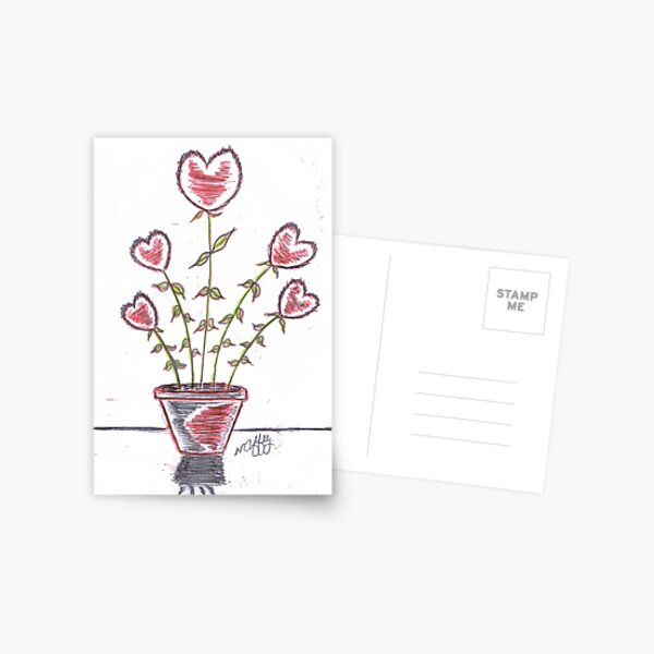 FRESH HEARTS Postcard