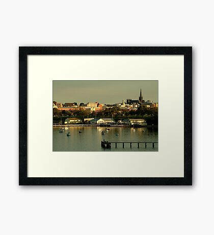 Geeong,City By The Bay Framed Print
