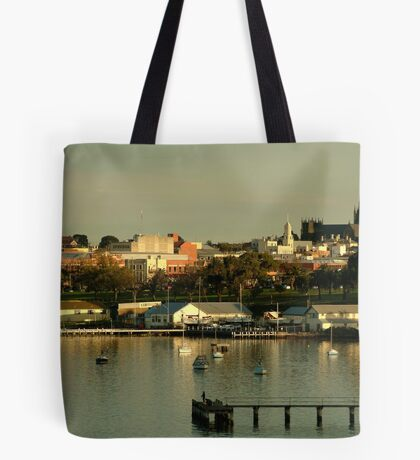 Geeong,City By The Bay Tote Bag