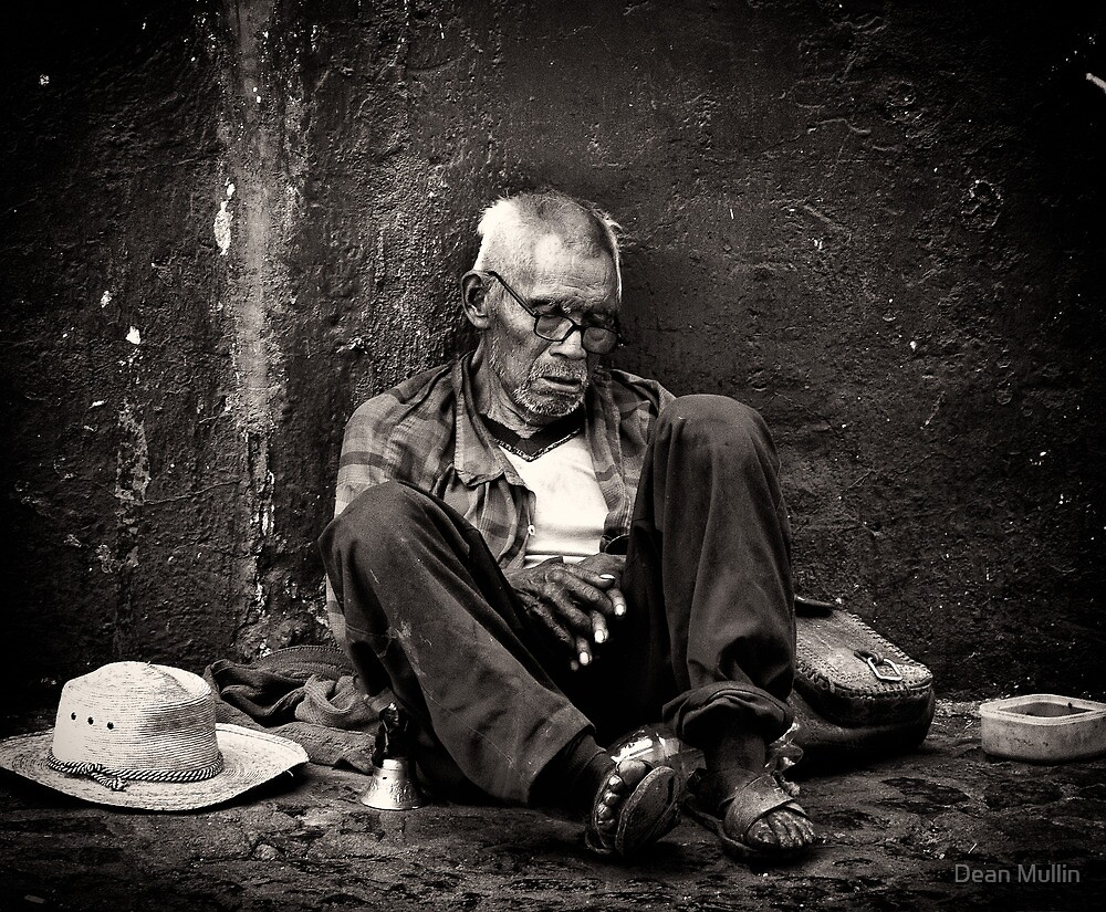 Homeless & Abandoned - Taxco, Mexico by Dean Mullin