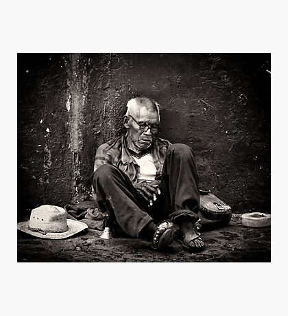 Homeless & Abandoned - Taxco, Mexico Photographic Print