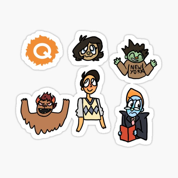 Avenue Q Sticker Pack + Phone Case Sticker