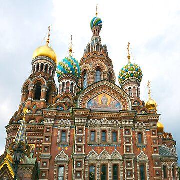 St Petersburg Russia Church by MomsBoxerShorts