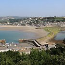 Marazion from the the Mount by kalaryder