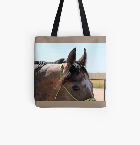 Eye of the Gray All Over Print Tote Bag