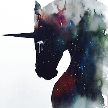 Black Unicorn by Grampus