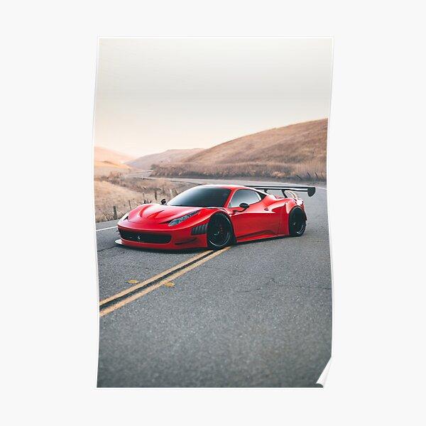 Ferrari 458 GT3 Poster
