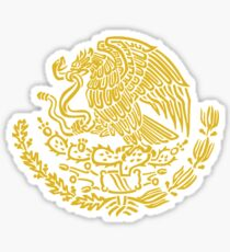 Coat of Arms of Mexico Sticker