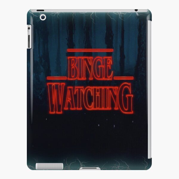 Binge watch and Chill iPad Snap Case