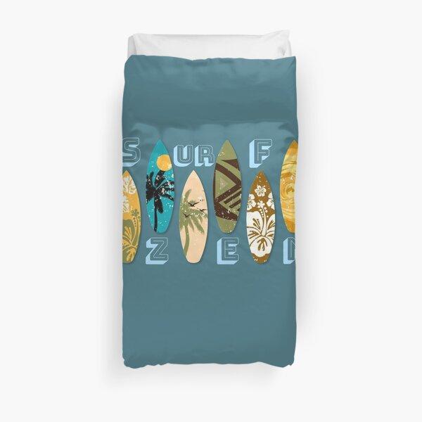 Housse De Couette Surf Zen Surf Literie T Shirts Coussins Leggings Et Mugs Par Thekitch Redbubble