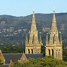 St Peter's Cathedral spires, North Adelaide by BronReid