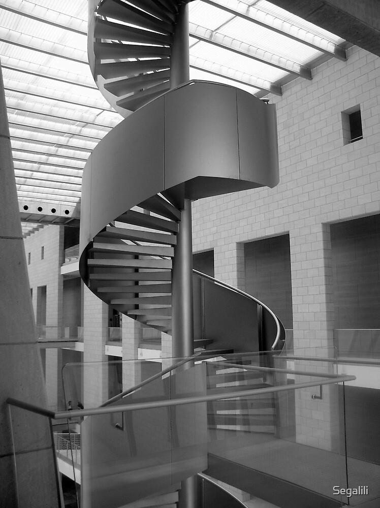 Haifa Court House Staircase by Segalili