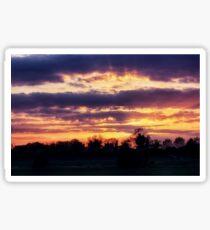 Heart of Sunset Sticker
