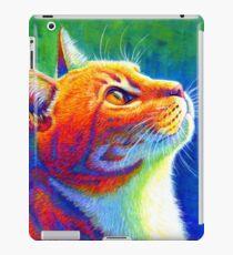 Rainbow Cat Portrait iPad Case/Skin