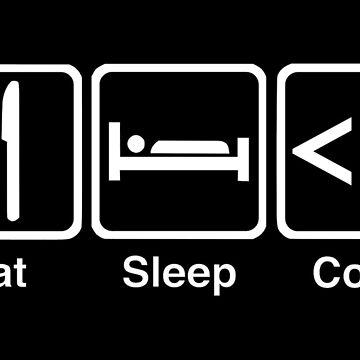 Eat, Sleep, Code by Amnezia