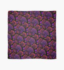 Cactus Floral - Bright Purple/Orange Scarf