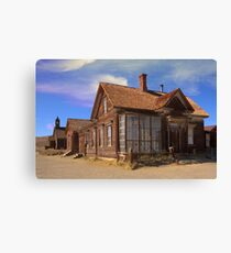 Abandoned building from the California Gold Rush Canvas Print