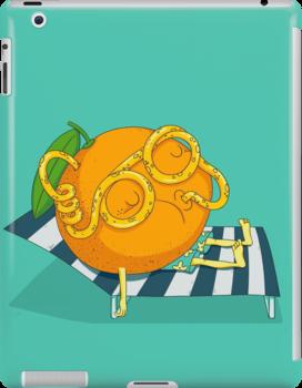Orange Juice by Lili Batista